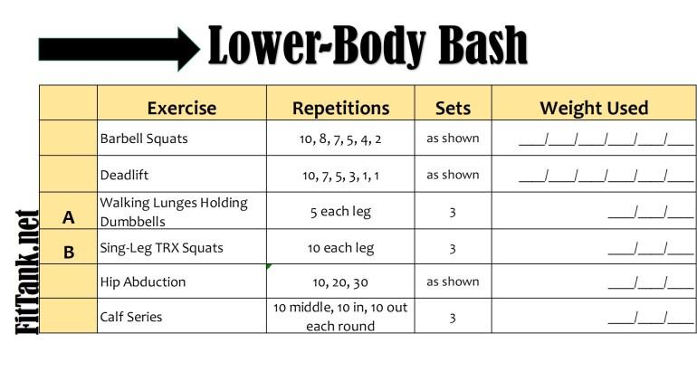 Lower-Body Bash