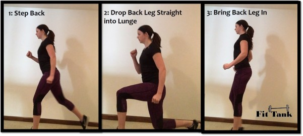 Step-Back Lunge Image