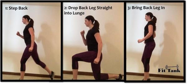 Step-Back Lunge Image