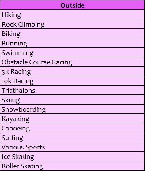 List Four