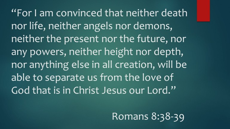 Nothing Can Separate from His Love