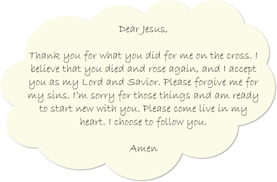 Salvation Prayer 2
