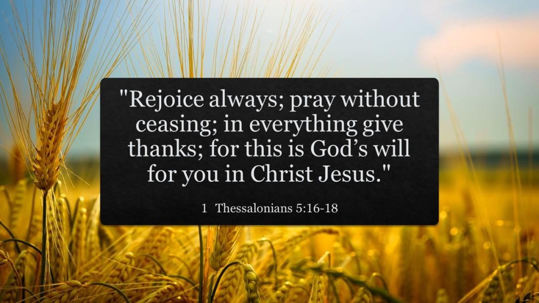 1 Thessalonians 516